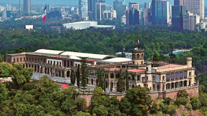 Chapultepec, the lung of the metropolis