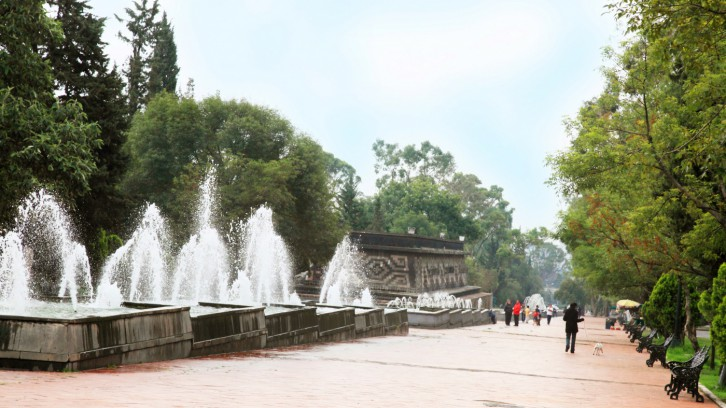 Track at the Second Section of Chapultepec