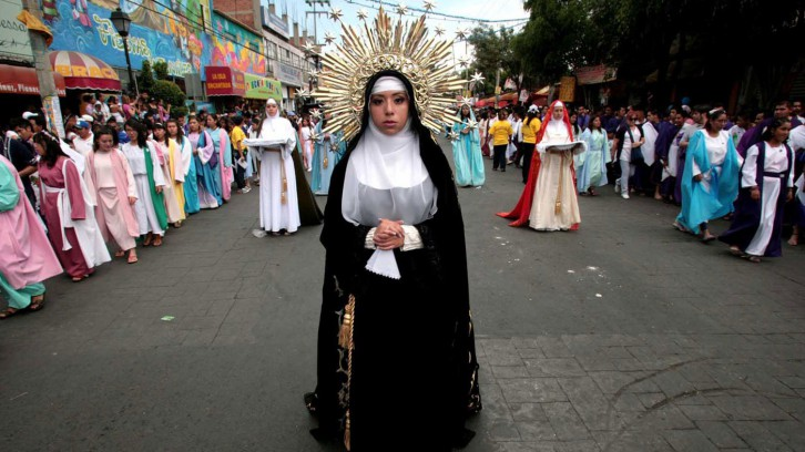 Holy Week in Iztapalapa