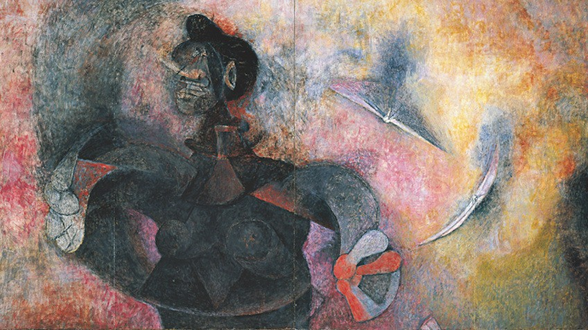Homage to the indian race by rufino tamayo attractions for Mural rufino tamayo