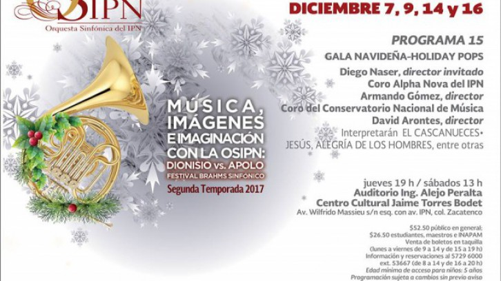 Gala Navideña Holiday Pops