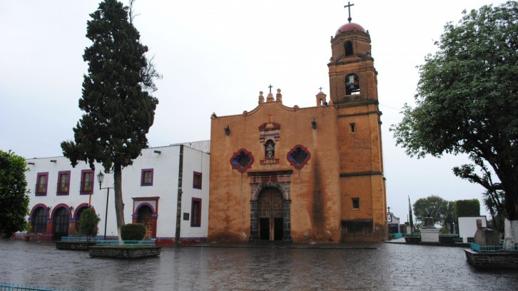 Santa María de la Visitación Church in Tetepan