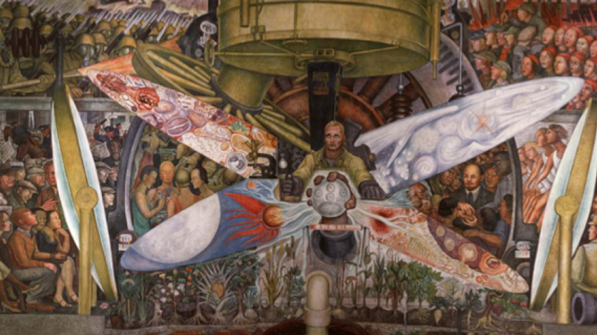 Stalinist mural diego rivera rockefeller center 28 for Diego rivera rockefeller center mural