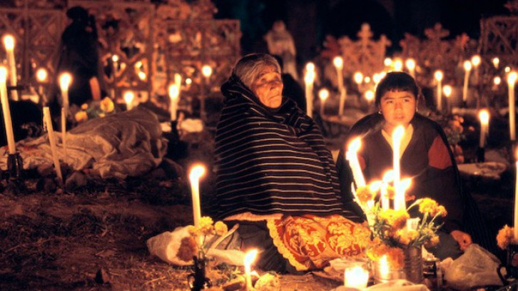 Indigenous celebrations dedicated to the dead in Mixquic
