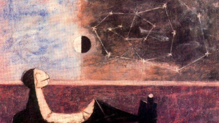 """Man before the Infinite"" by Rufino Tamayo"