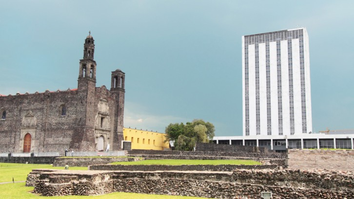 Tlatelolco: meeting of three cultures