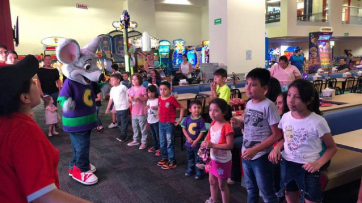 Chuck E. Cheese (Fortuna Lindavista)