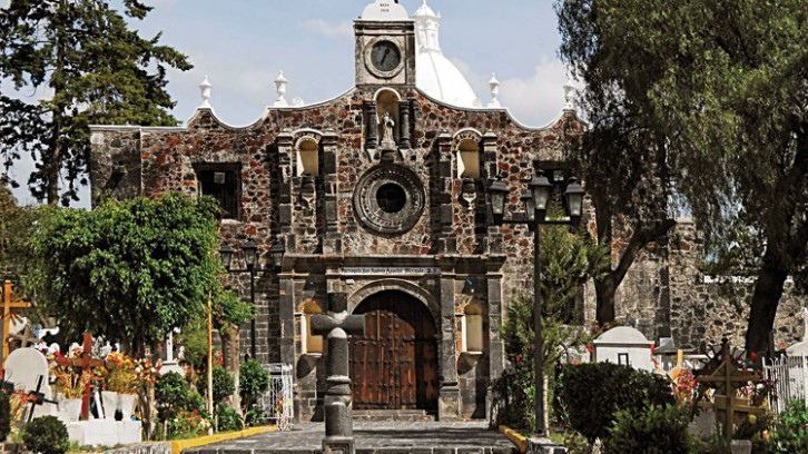 San Andrés Apóstol church and former convent, Mixquic