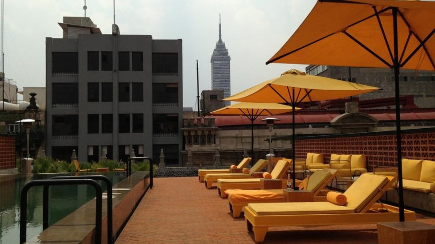 Terraza Hotel Downtown Attractions Cdmx