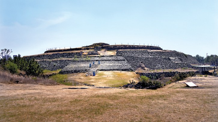 Cuicuilco Archeological Site and Site Museum