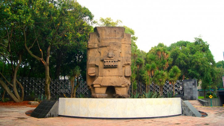 Monolith to Tláloc