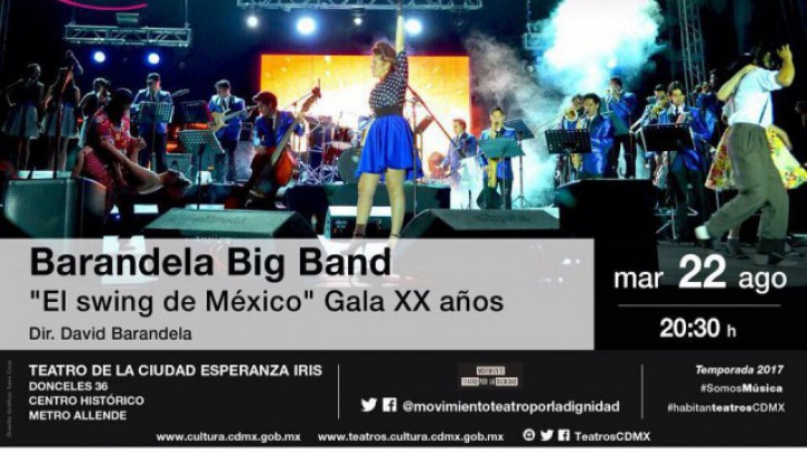 Barandela Big Band. El swing de México